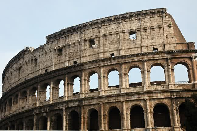 Colosseum in Rome - free stock photo