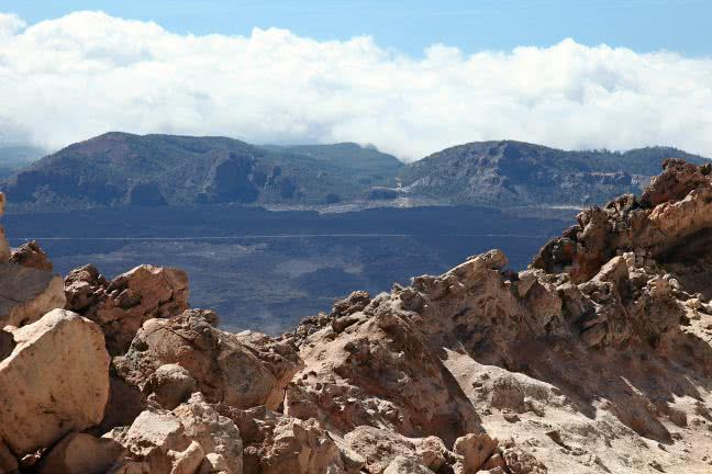 Mountains around the Pico del Teide - free stock photo
