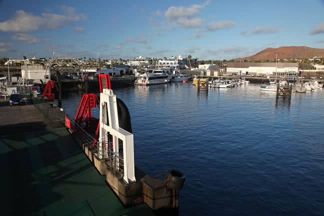 Playa Blanca harbour - free stock photo