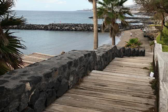 Tenerife promenade - free stock photo
