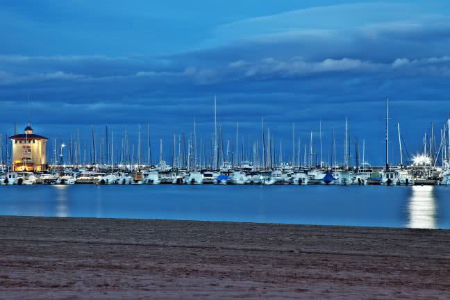 Torrevieja harbour - free stock photo