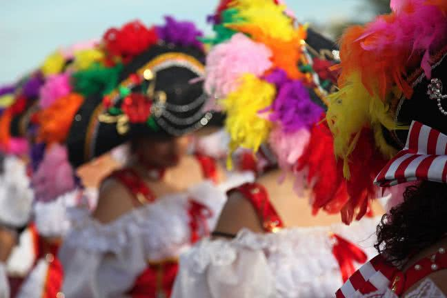 Traditional Lanzarote carnival - free stock photo